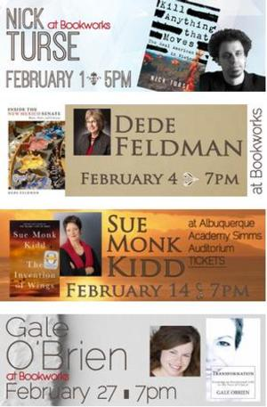 This Week at Bookworks Includes Nick Turse, Dede Feldman and More