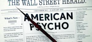World Premiere of Duncan Sheik and Roberto Aguirre-Sacasa's AMERICAN PSYCHO Begins Previews Tonight