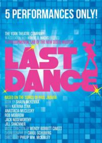 Performances Begin Tomorrow for York Theatre Company's LAST DANCE