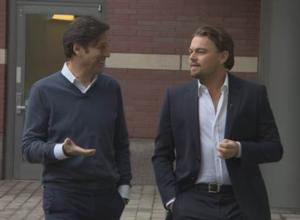 Oscar Nominee Leonardo DiCaprio Visits CBS SUNDAY MORNING Today