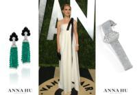 Natalie Portman Wore Anna Hu Haute Joaillerie To The Vanity Fair Oscars Party