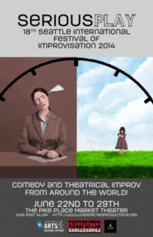 The 18th Seattle International Festival of Improv Announces Event Line-Up