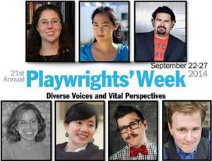 PARACHUTE MEN, GIRL OF GLASS, THE TIGER AMONG US and More Set for Lark's 21st Annual Playwrights' Week