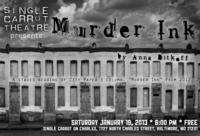 Single Carrot Theatre to Stage MURDER INK Reading, 1/19