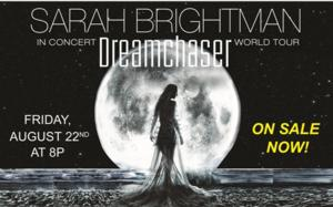 Sarah Brightman's 8/22 Concert at PPAC Cancelled Due to Injury
