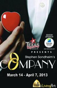 COMPANY Opens March 14th at the Texas Repertory Theatre