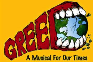 GREED: A MUSICAL FOR OUR TIMES to Open Off-Broadway at New World Stages; Performances Begin 3/19