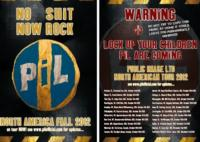 PUBLIC IMAGE LTD Kicks Off U.S. Tour Starting in Orlando Today, 10/3