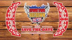 Country All-Star Lineup Set for Tonight's 32nd Annual Downtown Hoedown