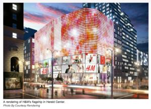 H&M is Taking Over Herald Center With Largest Store to Date