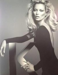 Kate Moss New Face of Kérastase Couture Styling Line