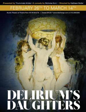 Cast Announced DELIRIUM'S DAUGHTERS at Theatre Row; Performances Begin Next Month