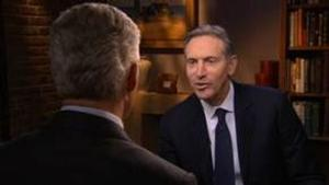 Starbucks CEO Announces $30 M Gift for Veterans on CBS EVENING NEWS