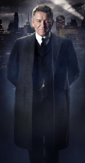 FIRST LOOK - GOTHAM's 'Alfred' the Butler - Sean Pertwee