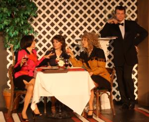 Two Muses Theatre To Open Season With AT THE BISTRO GARDEN, 9/26-10/19