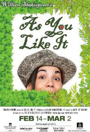 AS YOU LIKE IT to Open 2/14 at Theatre Memphis