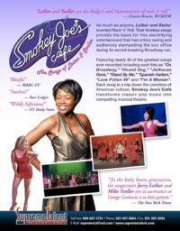 SMOKEY JOE'S CAFE Hits the State Theater, 4/14