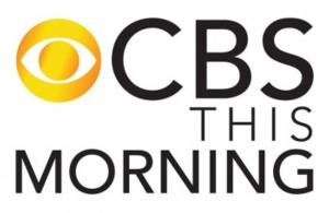 CBS THIS MORNING Posts Double Digit Year-to-Year Percentage Growth in Viewers