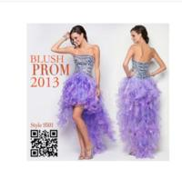 Blush Prom 2013 Prom Dresses are Getting Ready