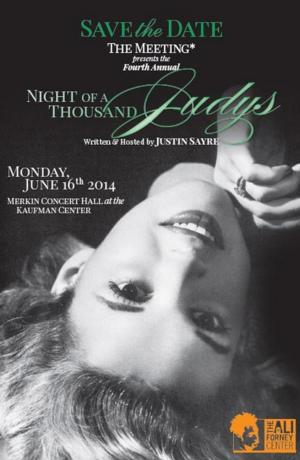 4th Annual NIGHT OF A THOUSAND JUDYS Set for Kaufman Center, 6/16