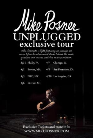 Mike Posner to Bring UNPLUGGED TOUR to Detroit's City Theatre, 4/6