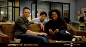 Cable Television Premiere of COMMUNITY Kicks Off on Comedy Central, 9/20