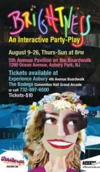 Asbury Park Boardwalk Welcomes Paratroupe's BRIGHTNESS, Now thru 8/26