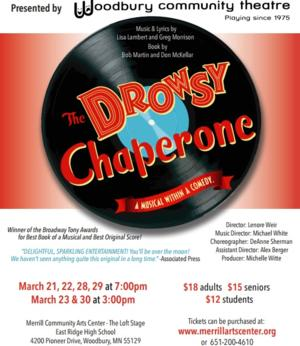 Woodbury Community Theatre Presents THE DROWSY CHAPERONE, 3/21-30