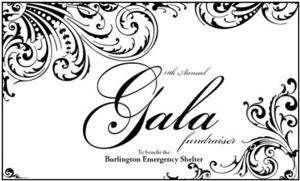 The Burlington Emergency Shelter Presents 11th Annual Fundraising Gala Tonight