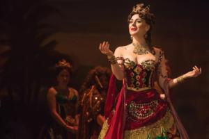 BWW Interviews: PHANTOM OF THE OPERA's Jacquelynne Fontaine and Storm Lineberger at Belk Theater