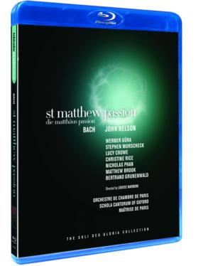 ST. MATTHEW PASSION Now Available on Blu-ray