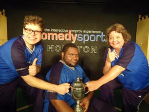 ComedySportz Hosts BATTLE OF THE SEXES This Weekend