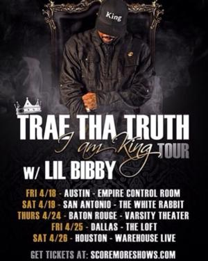 Lil Bibby Joins TREA THE TRUTH for 'I Am King' Tour Tonight