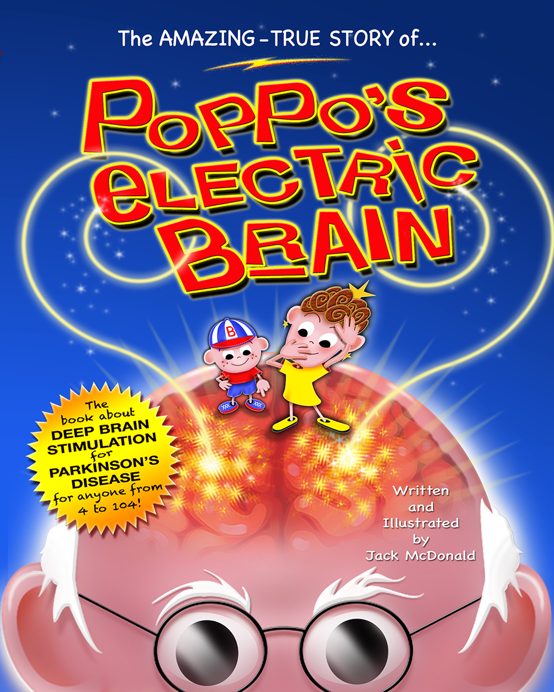 New Children's Book, Poppo's Electric Brain, is Released