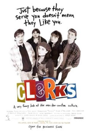 CLERKS to Screen 8/16 at Warner Theatre