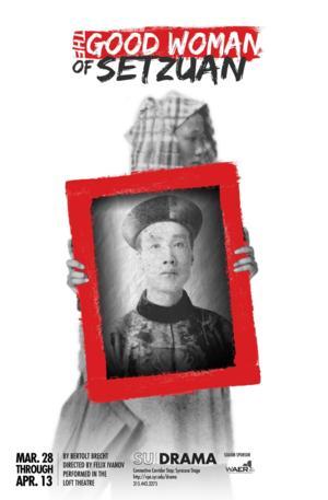 SU Drama's THE GOOD WOMAN OF SETZUAN Opens This Friday