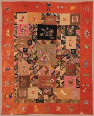 Rare Russian American Quilt Is Focus of New Exhibition at The Jewish Museum, Opening 8/22