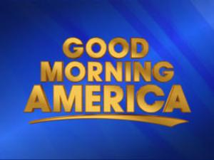 ABC's GOOD MORNING AMERICA is No 1 for Week in Viewers