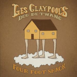 Les Claypool's Duo de Twang to Release FOUR FOOT SHACK Album, 2/4; Tour Dates Announced!