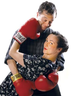 BWW Reviews: TRICK BOXING Romances Summer Fun at Third Avenue Playhouse
