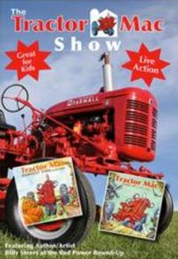 THE TRACTOR MAC SHOW DVD Introduces Kids to Tractors