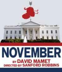 BWW-Reviews-David-Mamets-NOVEMBER-Delightfully-Politically-Incorrect-20010101
