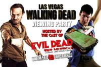 EVIL DEAD: THE MUSICAL Hosts WALKING DEAD Viewing Parties, Beginning Tonight