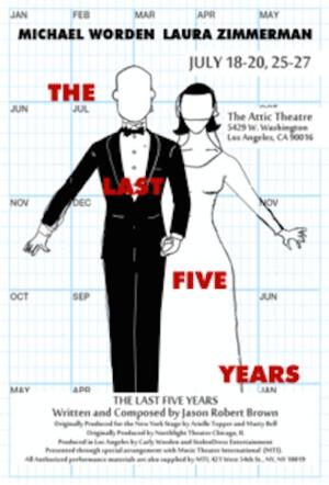 StolenDress Entertainment's THE LAST FIVE YEARS Plays The Attic Theater, Now thru 7/27