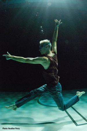BWW Reviews: Good Theater's UNDERWATER GUY Lifts Performance Art to the Poetic