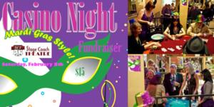 Stage Coach Theatre to Host Casino Night Fundraiser, 2/8
