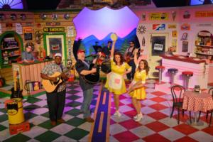Texas Repertory Theatre's PUMP BOYS AND DINETTES Closes Aug 3