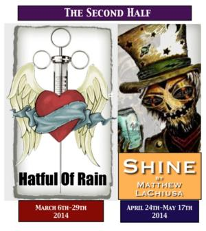 HATFUL OF RAIN and SHINE Set for ART/WNY's 2013-14 'Second Half'