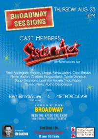 Broadway Sessions Welcomes Cast of SISTER ACT and More, 8/23