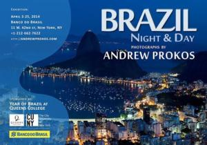 Andrew Prokos Announces 'Brazil: Night & Day' Exhibition, 4/3-25